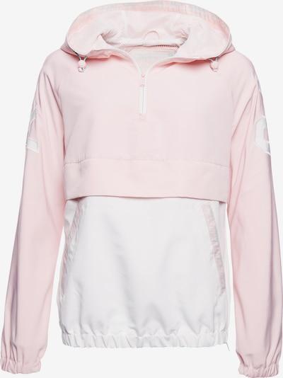 Superdry Jacke in rosa / weiß, Produktansicht