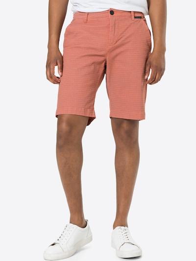 Pantaloni eleganți 'CANNE' Ragwear pe gri fumuriu / corai, Vizualizare model