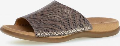 GABOR Pantolette in beige / braun / taupe, Produktansicht