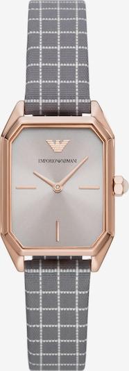 ARMANI Analog Watch in Gold / Grey / White, Item view