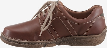 JOSEF SEIBEL Lace-Up Shoes in Brown
