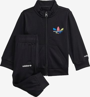 ADIDAS ORIGINALS Trainingsanzug 'Adicolor' in Schwarz