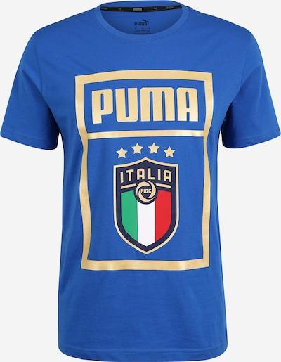 Sportiniai marškinėliai iš PUMA , spalva - mėlyna / mišrios spalvos, Prekių apžvalga