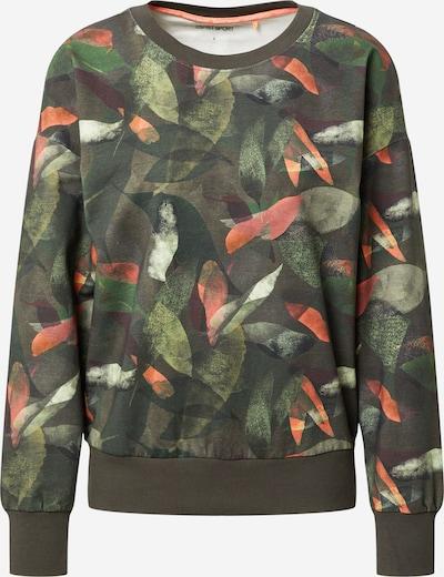 ESPRIT SPORT Sportska sweater majica u kaki / maslinasta / tamno zelena / koraljna, Pregled proizvoda