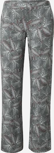 ETAM Панталон пижама 'IDRIS' в Каки / маслина / пъпеш: Изглед отпред