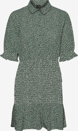 VERO MODA Kleid 'Dicthe' in khaki / weiß, Produktansicht