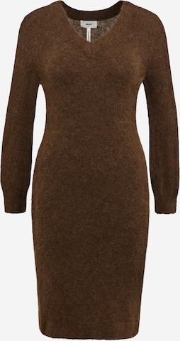 OBJECT Petite Gebreide jurk 'NETE' in Bruin