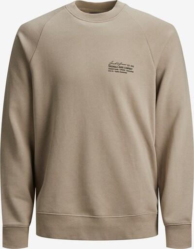 JACK & JONES Sweatshirt in beige, Produktansicht
