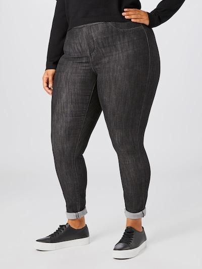 Junarose Jeans 'Daria' in grau, Modelansicht