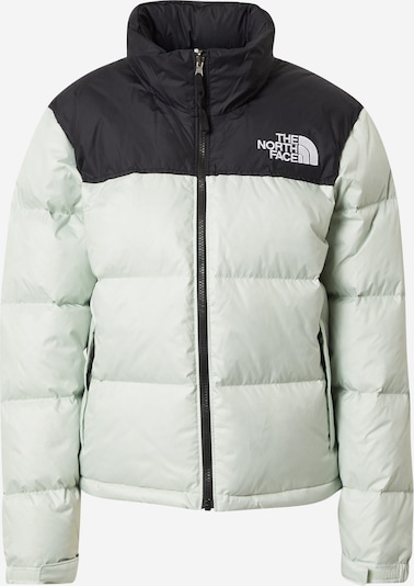 THE NORTH FACE Winterjas '1996 RETRO NUPTSE' in de kleur Pastelgroen / Zwart, Productweergave