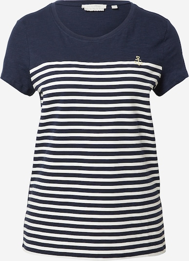 Maglietta TOM TAILOR DENIM di colore blu / bianco, Visualizzazione prodotti