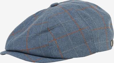 Brixton Bonnet 'Brood' en bleu clair / rouge / blanc, Vue avec produit