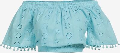 IZIA Blouse in de kleur Lichtblauw, Productweergave