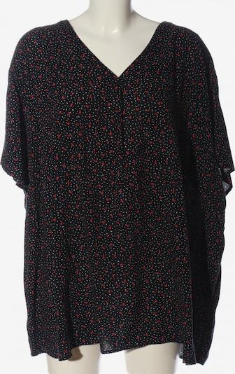 Laura Torelli Kurzarm-Bluse in 8XL in rot / schwarz / weiß, Produktansicht