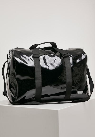 Urban Classics Strandtas ' Transparent Duffle Bag ' in de kleur Zwart, Productweergave