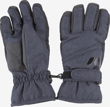 Whistler Skihandschuhe 'RUMI Melange Ski Gloves' in Blau