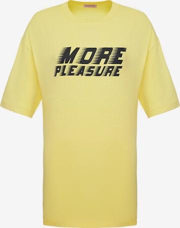 Grimelange Shirt 'Pleasure' in Yellow