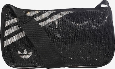 ADIDAS ORIGINALS Crossbody Bag in Black / Silver, Item view