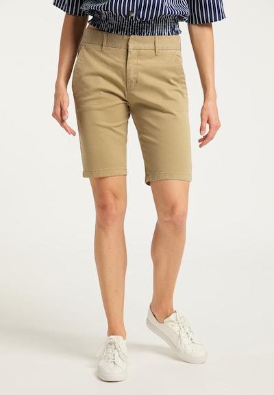 DreiMaster Vintage Shorts in beige, Modelansicht