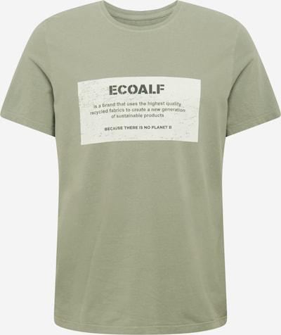 Tricou 'NEW NATAL' ECOALF pe verde deschis / alb natural, Vizualizare produs