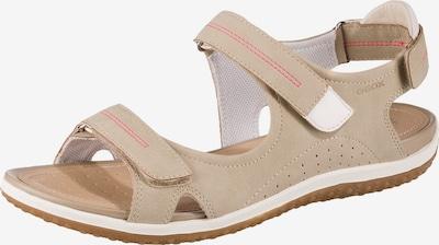 GEOX Sandales de randonnée en camel, Vue avec produit