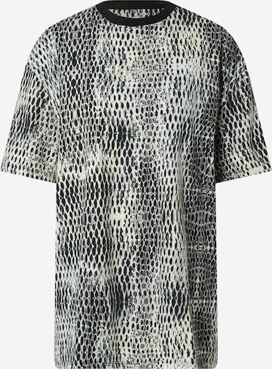 Karl Kani Široka majica | svetlo siva / črna / bela barva, Prikaz izdelka