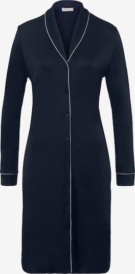 Hanro Nachthemd ' Natural Comfort 100cm ' in de kleur Donkerblauw, Productweergave