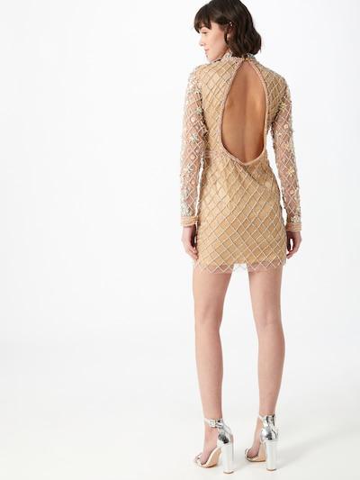 A STAR IS BORN Kleid in beige / gold / silber, Modelansicht
