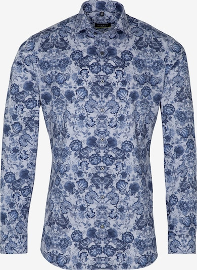 ETERNA Zakelijk overhemd in de kleur Blauw / Wit, Productweergave