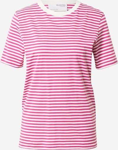 SELECTED FEMME Tričko 'MY PERFECT' - ružová / biela, Produkt