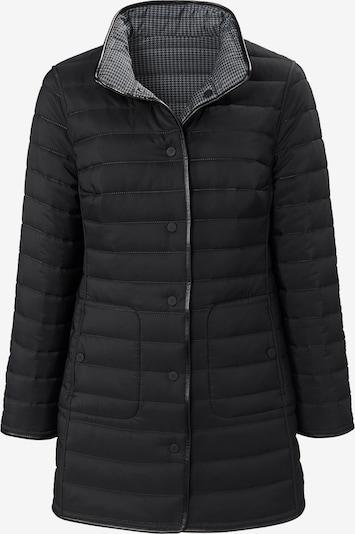 Basler Jacke in grau / schwarz, Produktansicht