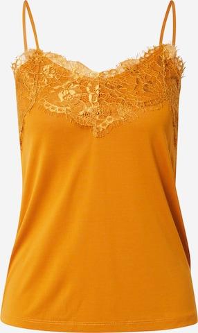 ICHI Top in Yellow