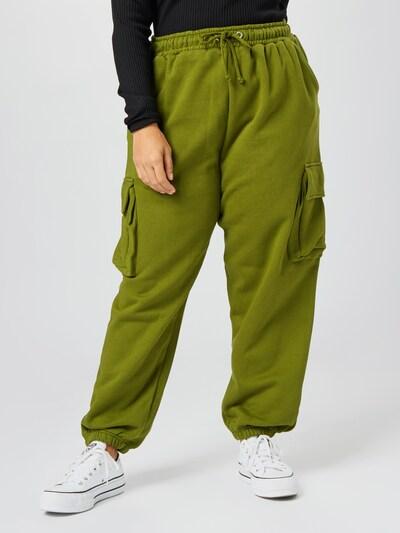 Missguided Plus Hose in grün, Modelansicht