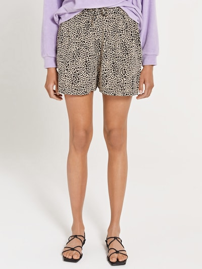 Shiwi Shorts 'ARIZONA' in beige / schwarz, Modelansicht