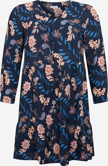 MY TRUE ME Kleid in blau / mischfarben, Produktansicht