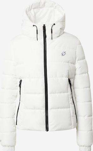 Superdry Overgangsjakke i hvit