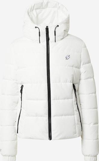 Superdry Övergångsjacka i svart / off-white, Produktvy