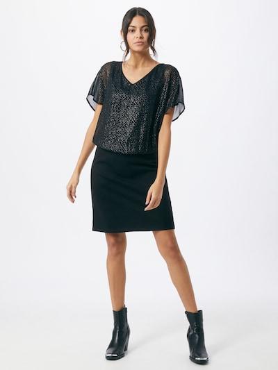 ESPRIT Kleid in schwarz / weiß, Modelansicht