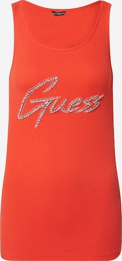 GUESS Top in orangerot, Produktansicht