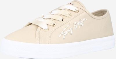 TOMMY HILFIGER Baskets basses en beige / blanc, Vue avec produit