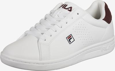 FILA Sneaker 'Crosscourt 2 F' in dunkelblau / braun / weinrot / weiß, Produktansicht