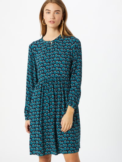 LIEBLINGSSTÜCK Robe 'Raili' en bleu pastel / bleu foncé: Vue de face