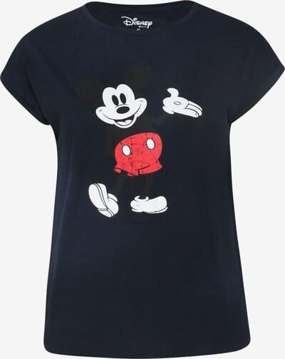 Paprika T-Shirt in blau / marine / schwarz / weiß, Produktansicht