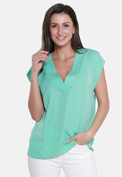 usha WHITE LABEL Bluse in jade, Modelansicht