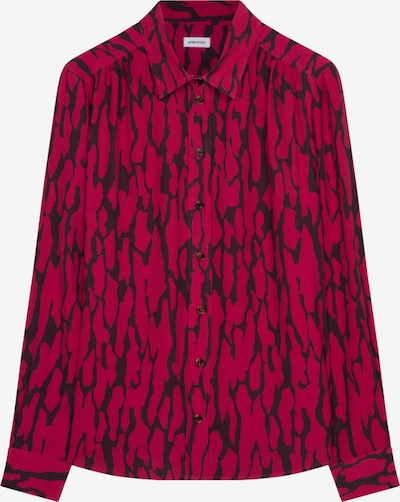 SEIDENSTICKER Hemdbluse ' Schwarze Rose ' in rot, Produktansicht