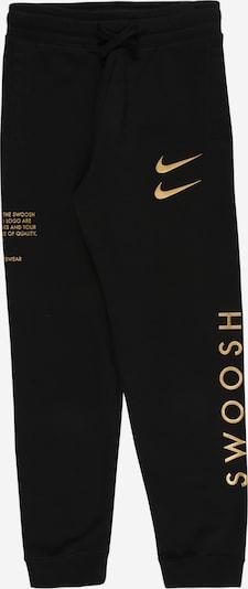 Nike Sportswear Hose in gold / schwarz, Produktansicht
