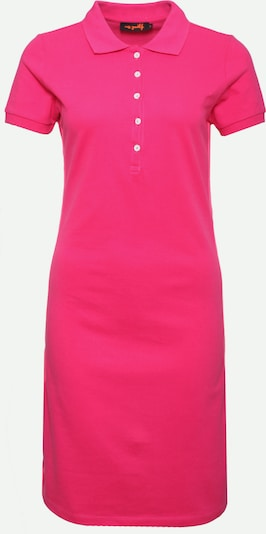 miss goodlife Shirtkleid 'Dress Polo' in pink, Produktansicht