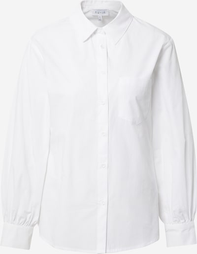NU-IN Bluse i hvid, Produktvisning