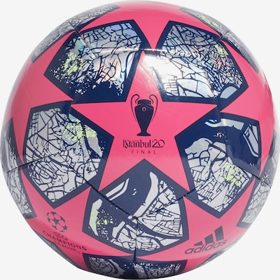 ADIDAS PERFORMANCE Ball in navy / pink / silber: Frontalansicht