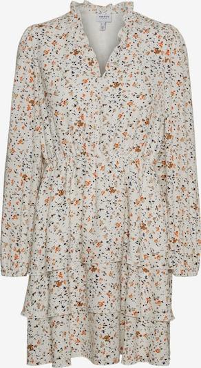 AWARE by Vero Moda Kleid 'Kanya' in marine / braun / dunkelorange / weiß, Produktansicht